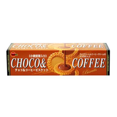 北日本 巧克力&咖啡餅乾(108g)