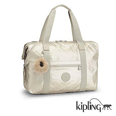 Kipling 手提旅行包 銀河素面-大