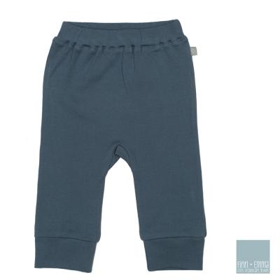 美國 FINN & EMMA 有機棉長褲 (圖騰藍)