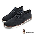 Hush Puppies EXPERT風尚運動休閒鞋-深藍