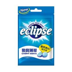Eclipse易口舒 脆皮軟心薄荷糖-勁爽薄荷口味(34g)