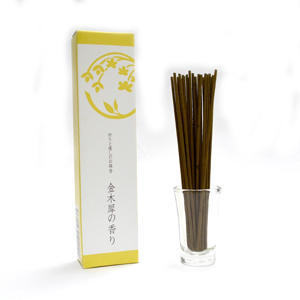 悠悠庵 祈癒之香-金木犀 小盒裝線香 40g (原價300)