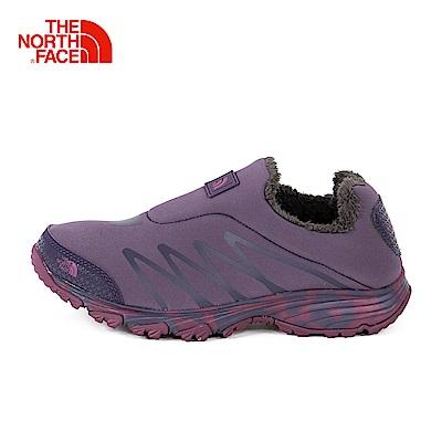 The North Face北面女款紫色輕便舒適徒步鞋