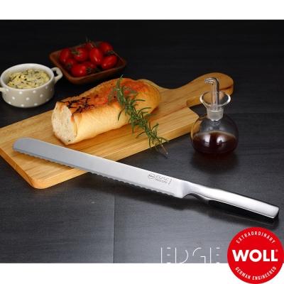 德國WOLL 冰鍛不銹鋼麵包刀25.5cm