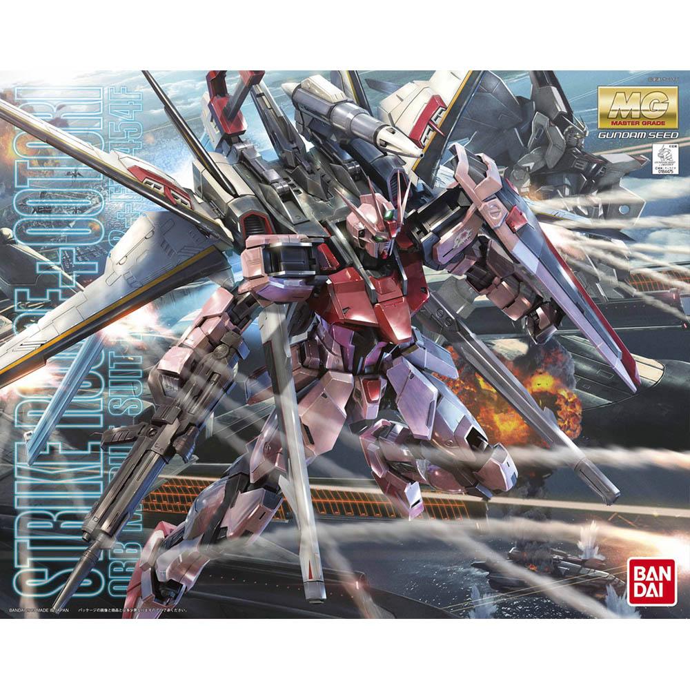 【BANDAI】鋼彈SEEDMG 1/100 MBF-02+EW454F嫣紅攻擊鋼彈