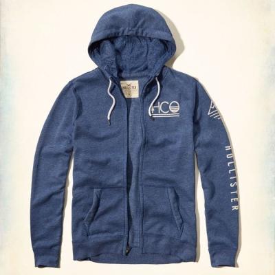 Hollister HCO 長袖 外套 深藍色