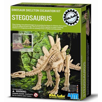4M挖掘考古Dig a Dino Stegosaurus挖掘劍龍