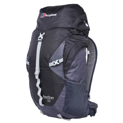 【Berghaus 貝豪斯】男款FREEFLOW25L專業登山包T27M22灰/黑