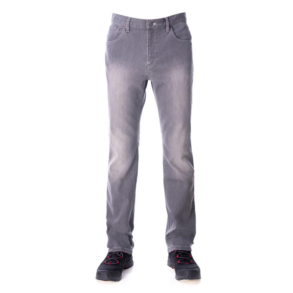 【hilltop山頂鳥】男款THERMOLITE保暖透氣牛仔褲H31MJ7灰