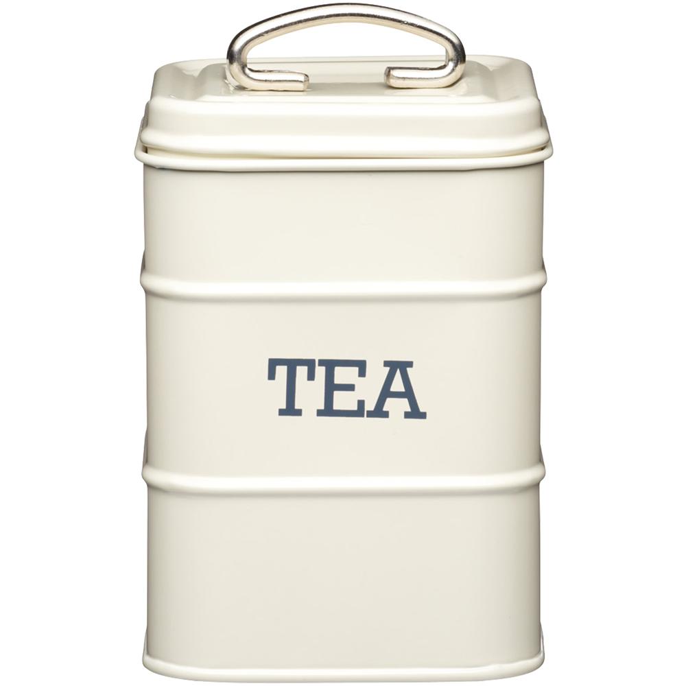 KitchenCraft 復古茶葉收納罐(奶油黃)