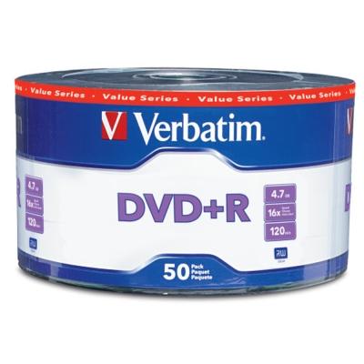 Verbatim 威寶 AZO 銀雀版  16 X DVD+R  4 . 7 GB 燒錄片  500 片