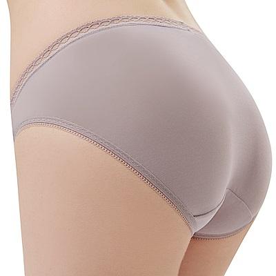 思薇爾 Tour-Dry系列M-XXL素面低腰三角內褲(沉香膚)