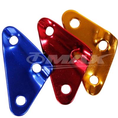 omax鋁合金-三角營繩調節片-20入(顏色隨機出貨)-快
