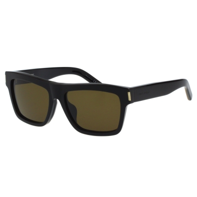 YSL 帥氣方框 太陽眼鏡 (黑色)