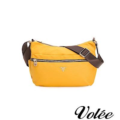 Volee飛行包 - 好旅行系列拉鍊肩背包-西班牙黃