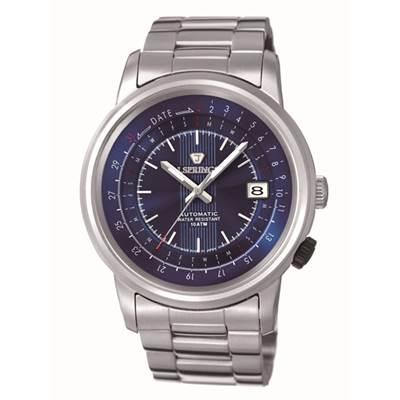 J.SPRINGS Modern-Classic 機械腕錶-藍/47mm