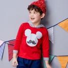 Disney 米奇系列翹鬍子連帽上衣 (共2色)