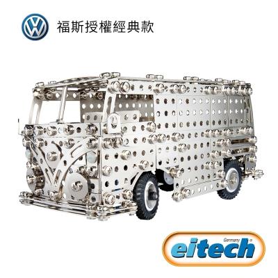德國eitech鋼鐵玩具-福斯T1露營車C1955