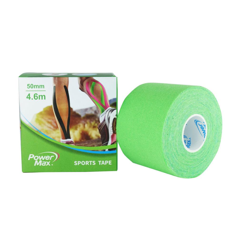 PowerMax 運動肌效能貼布/給力貼 50mm(單捲)-草綠