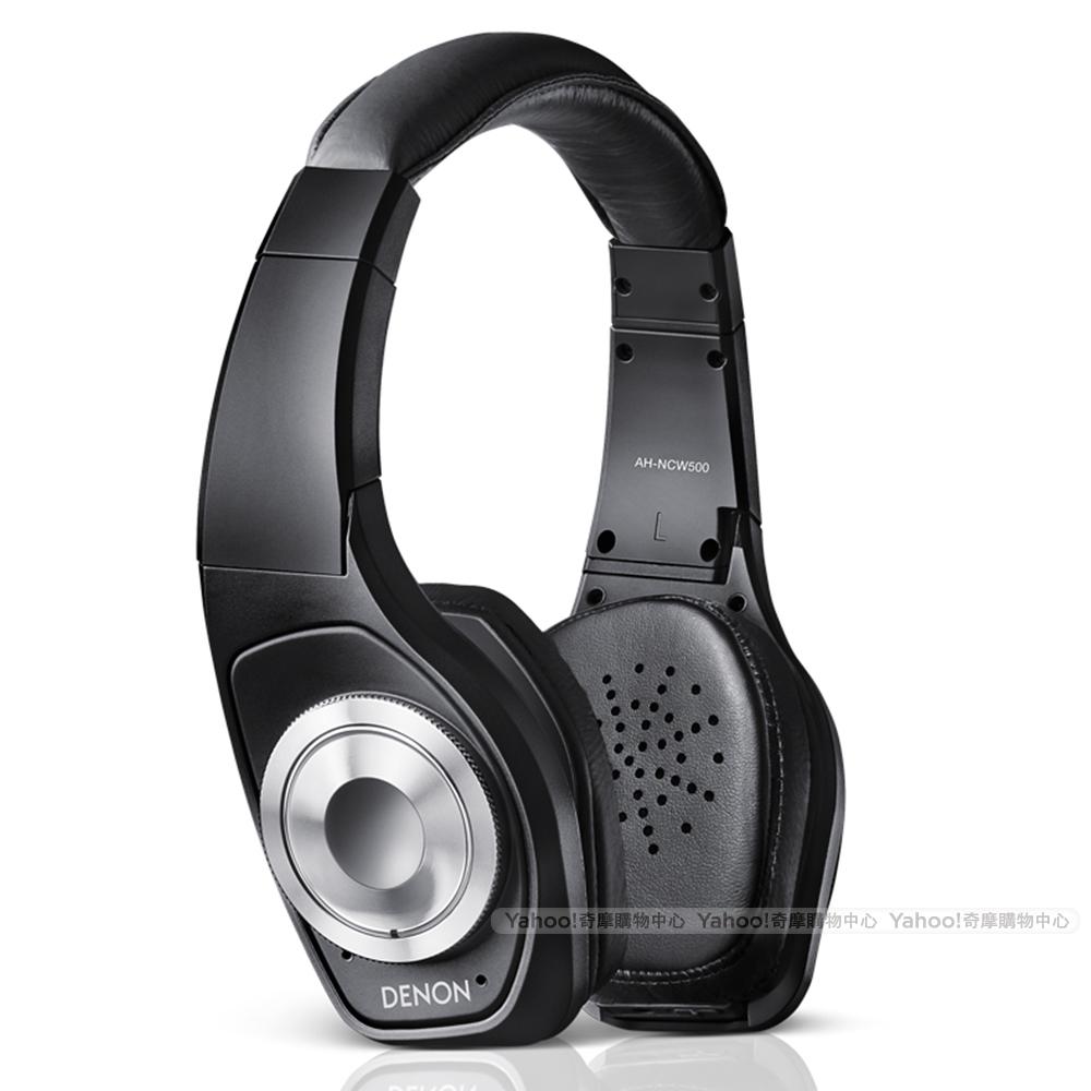 DENON 耳機 AH-NCW500 黑色 無線藍牙耳機 降噪耳機 耳罩耳機