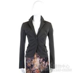 PAOLA FRANI 深灰色多口袋造型西裝外套