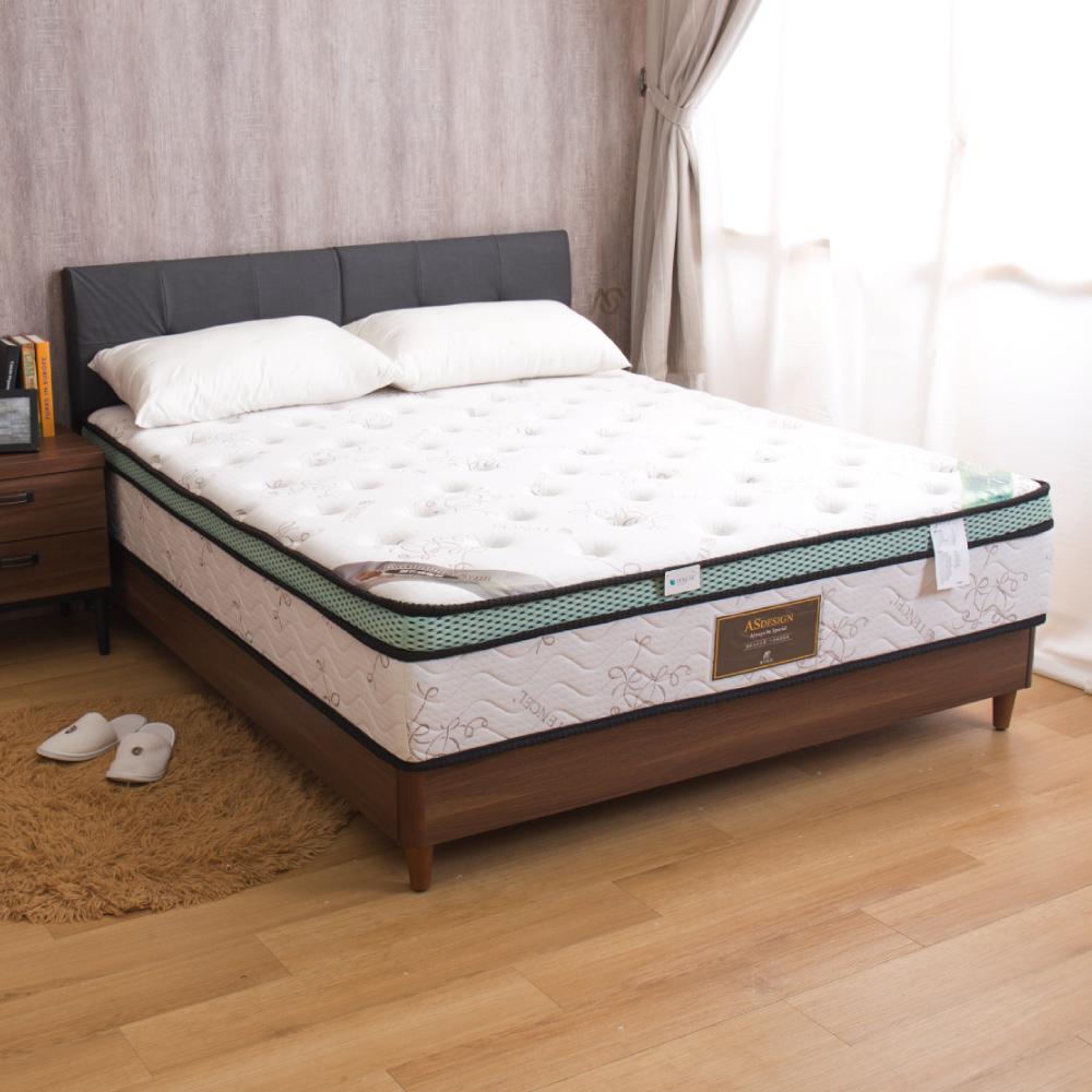 桃樂斯 舒眠乳膠三線全封雙人加大6尺對流式獨立筒床墊
