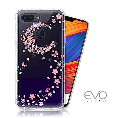 EVO CASE OPPO R15 PRO 奧地利水鑽殼 - 櫻月