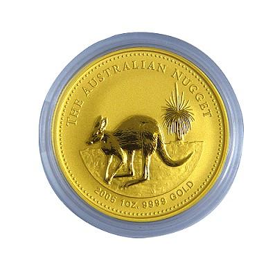 澳洲袋鼠金幣-1盎司(OZ)