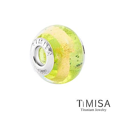 TiMISA《金蘋果(11mm)》純鈦琉璃 墜飾串珠