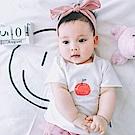 Baby unicorn 白色蘋果捲邊短袖上衣