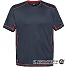 【加拿大STORMTECH】舒適彈力車縫機能衫SAT400-男-深藍紅