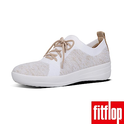 FitFlop TM-UBERKNIT TM SLIP-ON 金蔥/都會白