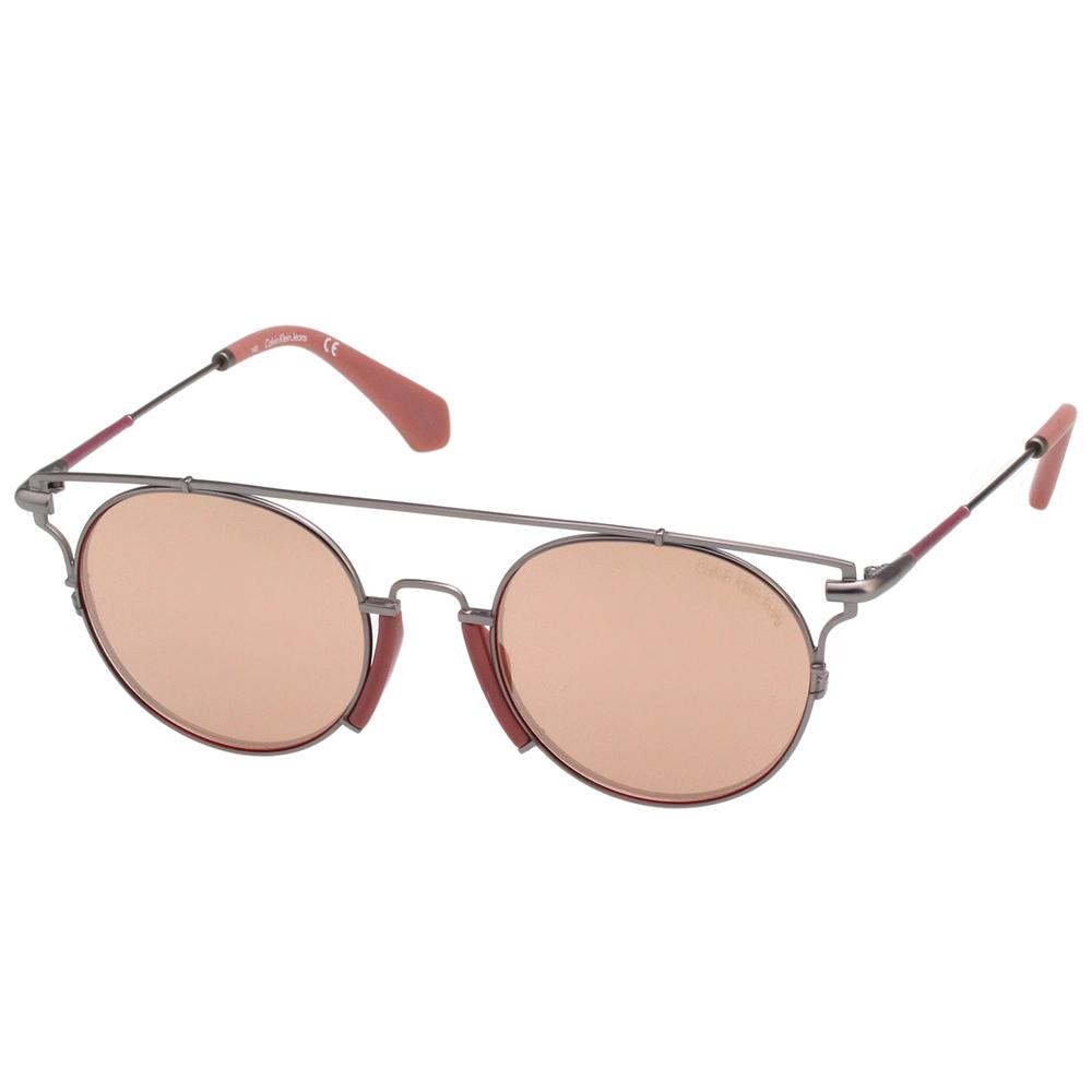 Calvin Klein- 水銀面太陽眼鏡(玫瑰金)CKJ167S-008