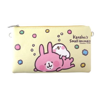 Kanahei卡娜赫拉皮質橫式手機袋/萬用包/手腕袋_白日夢