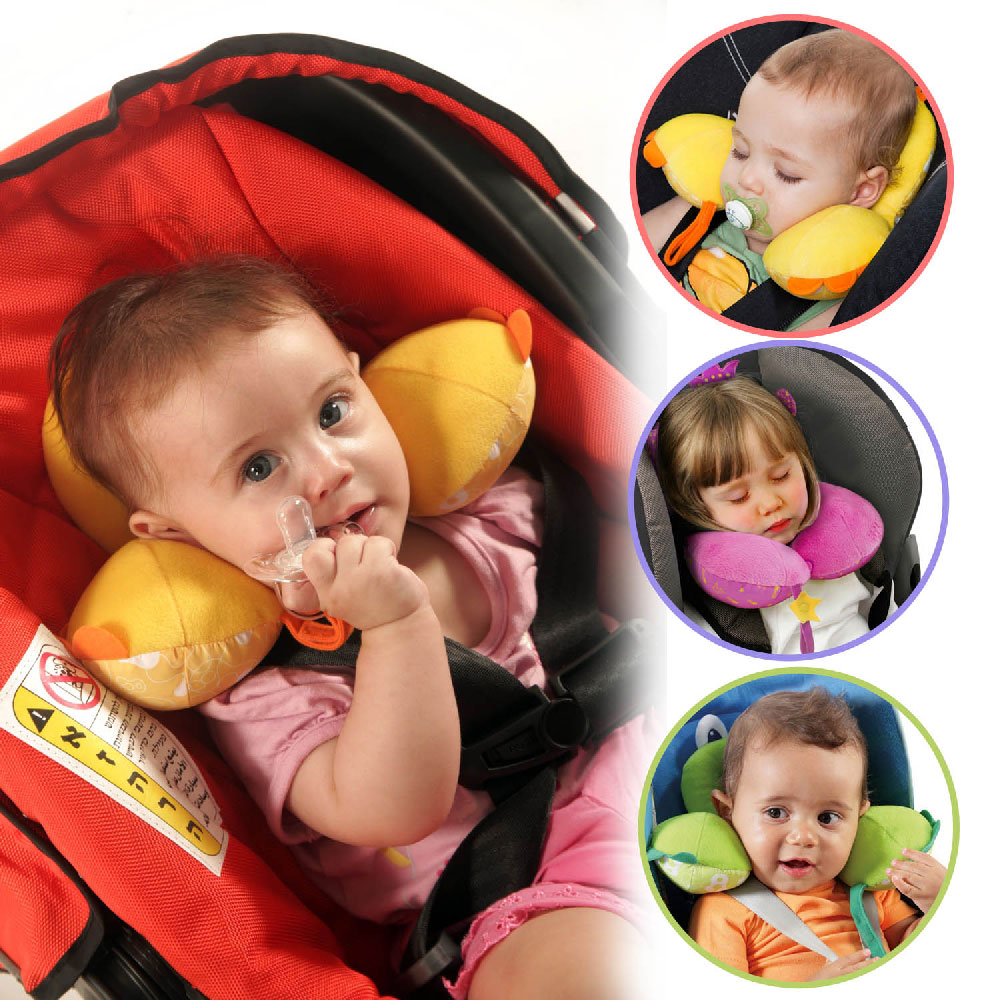 DF 童趣館 - benbat兒童專用防落枕可愛動物造型護頸枕-共5色