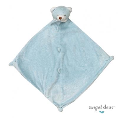 美國 Angel Dear 動物嬰兒安撫巾 (藍色小熊)