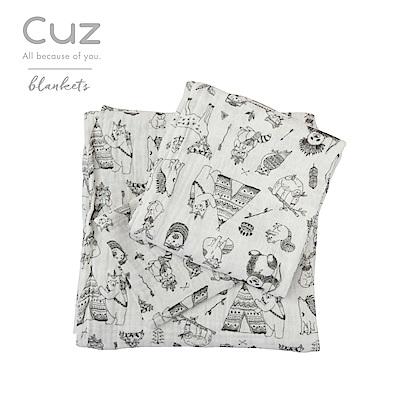 Cuz-印地安獵手(紗布巾)30cm-2入