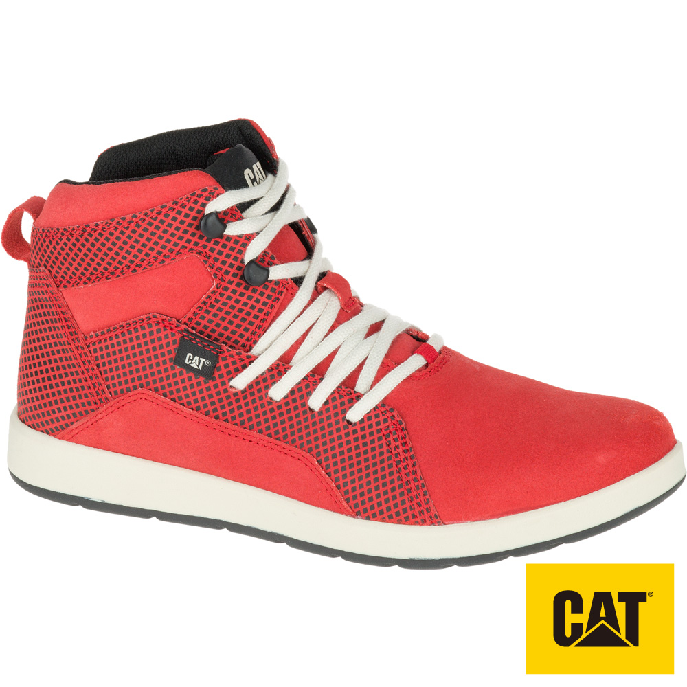 CAT SHAW ACTIVE系列男鞋-紅(720393)