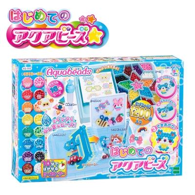 EPOCH 創意DIY玩具 夢幻星星水串珠 16色 附中文說明 AQ-S55
