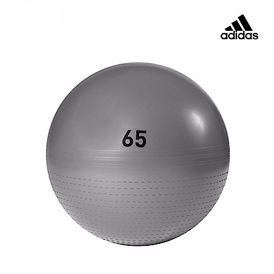 Adidas Training 伸展減壓瑜珈球(灰) -65cm