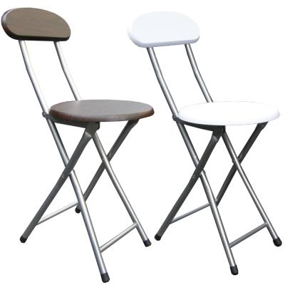 Dr. DIY 木製高背椅座折疊椅4入 (二色)