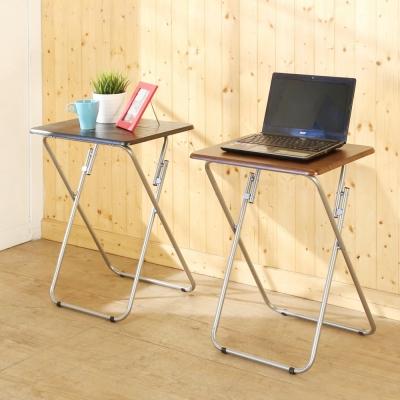 BuyJM簡約輕巧防潑水折疊桌/邊桌/寬47x38x66公分-免組