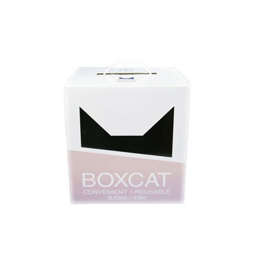 【國際貓家】BOXCAT灰標-極速凝結小球砂12L(10kg)