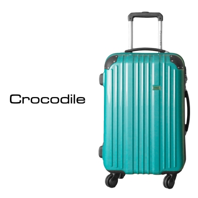 Crocodile Noble系列鏡面拉桿箱22.5吋-土耳其藍 0111-5222-09