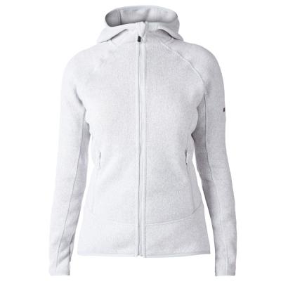 【Berghaus 貝豪斯】女款AT OPTIC保暖刷毛連帽外套H22FR2灰