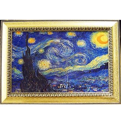 開運陶源《星月夜 星空》梵谷名畫 (60x43cm )