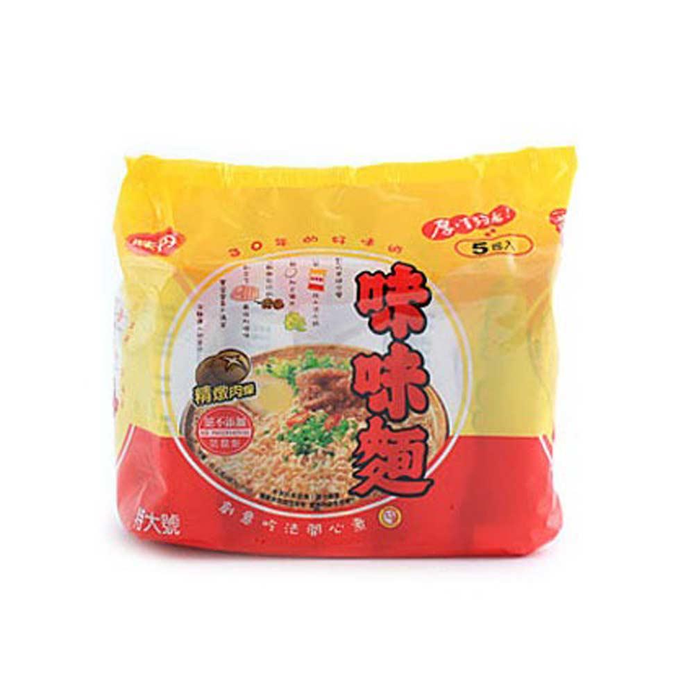 味丹 味味麵-精燉肉燥麵(5入/袋)