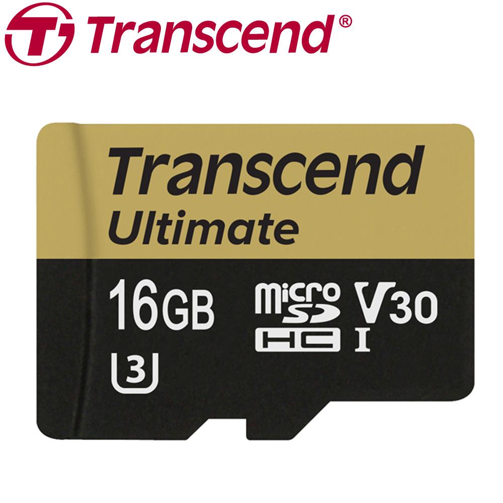 創見 16GB Ultimate microSDHC UHS-I (U3) 記憶卡