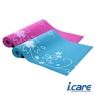 《凡太奇》I.CARE。0.6cm印花瑜珈墊J6588