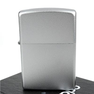 【ZIPPO】美系~Satin Chrome緞面鍍鉻~銀色霧面打火機